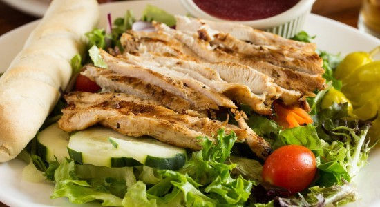 Adam's Taphouse and Grille Prince Frederick Grilled Chicken Breast Salad